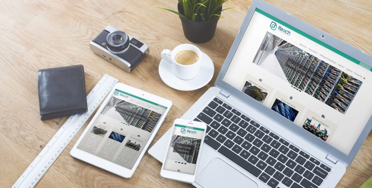 Reach Technology Web-site Layout