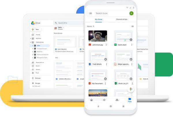 Google雲端硬盤可讓您隨時隨地在任何設備上訪問文件